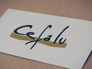 Logo Lettering para Cefalu