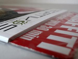 "Diseño de la revista graffiti ""Negativos Magazine #2″"