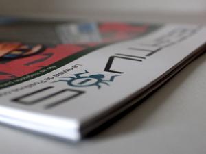 "Diseño de la revista graffiti ""Negativos Magazine #4″"