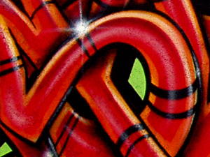Graffiti en Vallecas 2006