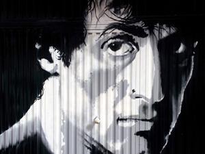 Decoración artística «Rocky»