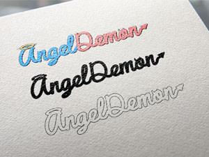 Logo y Lettering para AngelDemon