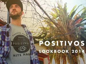 Sesión fotográfica y diseño para Positivos Wear