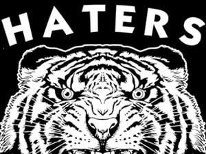 """Diseño para serigrafía """"Haters"""""""