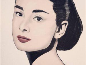 Ilustración «Eternamente joven» – Audrey Hepburn