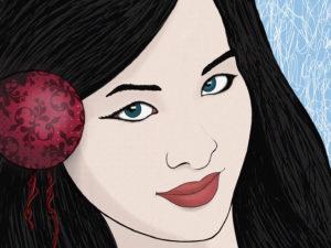 Ilustración «Chica china»